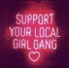 shealwaysreads: (support your local girl gang) (Default)