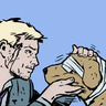 bazanite: (clint loves doggies)