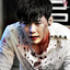agaggleoffandoms: Actor Lee Jong Suk from his role in W sitting on steps very bloody (lee jong suk, w, whump)