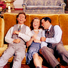 lazaefair: Cosmo, Kathy and Don from the movie Singin' In The Rain, collapsed on the couch and laughing together. (Default)