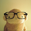oanja: (bear with glasses)