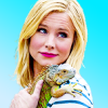 problematiquefave: Eleanor Shellstrop from The Good Place holding iguana. (eleanor shellstrop)