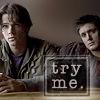 redrikki: Sam & Dean Winchester (Supernatural pilot)