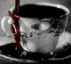 propergoffick: an elegant little cup full of blood (vampire tea)