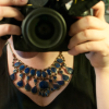 dragonlady7: self-portrait but it's mostly the DSLR in my hands in the mirror (tumblr)