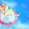 darjeeling: Tutu | Princess Tutu ([ ANIM ] colour a rainbow in the clouds)