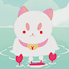 sankseas: puppycat swimming (sankseas)
