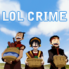 runawayskellum: Toph, Sokka and Aang on a crime spree (LOL CRIME)