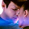pixiedane: Spock and Uhura embrace (ships)