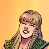 sapphicsunshower: gabrielle smiling, from the xena comic (gabrielle)