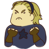 girlbookwrm: steve rogers, wearing a hairband and ready to fight (fightin hairband steeb)
