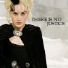 "snickfic: Susan Sto-Helit with text ""There is no justice"" (discworld)"