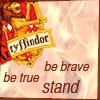 emmaruth: Harry Potter Hogwarts Houses (Gryffindor Brave Stand True)
