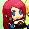 terabient: A child holding a winged hat (Blazblue: bb!Tsubaki)