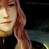 larissa: (FFXIII ☄ ⌈Lightning ; half smile⌋)