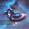 emmaruth: Captain America (Captain America Flying)