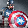 emmaruth: Captain America (Captain America Shield)
