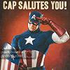emmaruth: Captain America (Captain America Salutes You)
