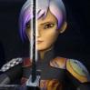 redrikki: Sabine Wren with the Darksaber (Star Wars Rebels, Sabine Wren)