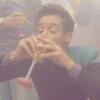 adigeon: A picture of Julian Bashir drinking (drinky bashir)