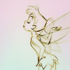 marysuewhipple: sketch drawing of tinkerbell (tink)