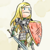 paladinkit: blonde paladin with determined face (Default)