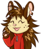 fluffy_hyena: It's me, smiling (yo)