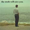 ursamajor: Mulder looking at the ocean (the truth will save you)