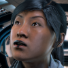 aubergion: custom Taiwanese Sara Ryder from Mass Effect, looking up (sara ryder)