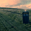 letsgofriday: The Tardis in a field (dr who: tardis)