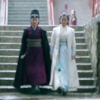 extrapenguin: Xia Dong and Mu Nihuang from Nirvana in Fire descending a staircase together. (teamwork)