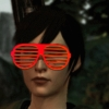 ceruleancorvid: screenshot of hawke from dragon age two with red shutter shades (hightown funk you up)