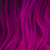 wordstreamer: Close-up of (my) hair dyed bright magenta. (hair)