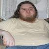 brigidsblindbard: Photo of a clean and fresh Blind Rob, about to brush his hair and beard. (2010, Blind, Clean, Fresh, Mugshot, Rob, Robert)