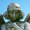 viridian5: Maben angel at The Green-Wood Cemetery (Angel)