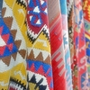 yolomezpa: White fabric with colorful patterns (Colorful patterns)