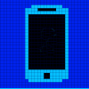zimena: A pixel version of a mobile phone (Misc - Mobile phone)