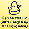 rdprice29: (poo flinging monkey)