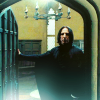 badrubbish: Severus Snape, in the middle of dramatically opening or closing a door. (snoor)