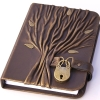 ateanalenn: a leather diary with a lock (!private diary)