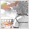 dragonofeternal: Roxas staring off at the sky (kingdom hearts→ Roxas wistful)