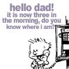 heliology: (C&H - Hi dad it's 3AM)