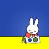 kadma: (→ miffy likes art)