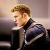 lionessvalenti: Steve Rogers in Captain America uniform looking dramatic. (steve)