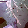 sponsorigami: icon of a roughed up Ivan smiling (折紙 I'll fold 1000 cranes for you)
