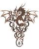 cymru: A Celtic Knotwork Dragon (Zen)