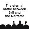 ratherastory: ([MST3K] Evil & the Narrator)