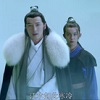 krait: Su Zhe in a cloak with Fei Liu behind him, in the snow (Nirvana in Fire: Su Zhe and Fei Liu)