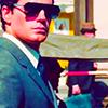 electric_heart: Napoleon Solo in sunglasses and suit (Napoleon Solo)