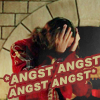 meridian_rose: Darken Rahl (legend of the seeker) head in hands with text ANGST ANGST ANGST ANGST (angst)